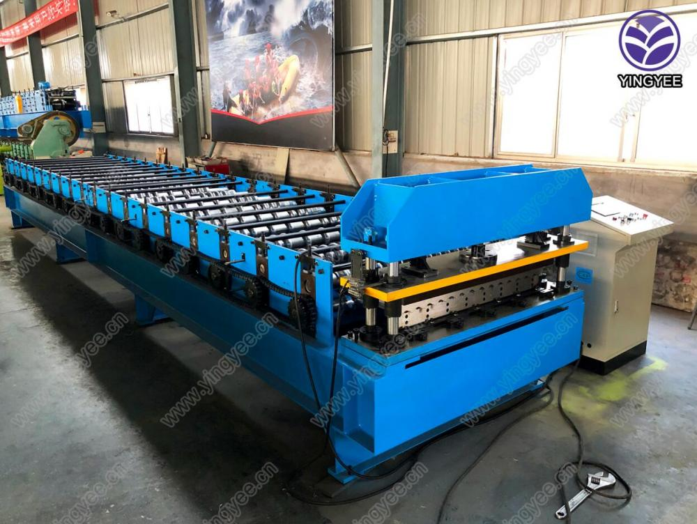 galvanized roofing sheet corrugated forming machine