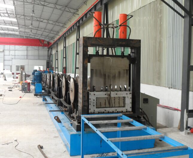 PLC Automatic Cable Tray Roll Forming Machine