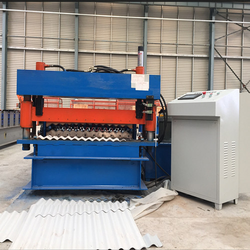 Discount wholesale Cz Purlin Roll Forming Machine - Heavy duty corrugated metal steel roofing machine – Yingyee