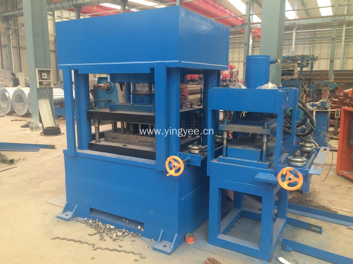 Manufactur standard Mash Tl3 Guardrail Cold Bending Machine - Highway Safety Guardrail Machine With Rail – Yingyee