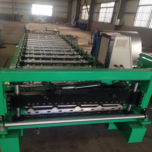 Hot-selling Steel Roller Shutter Door Frame - trapezoid sheet IBR metal roofing making machine – Yingyee
