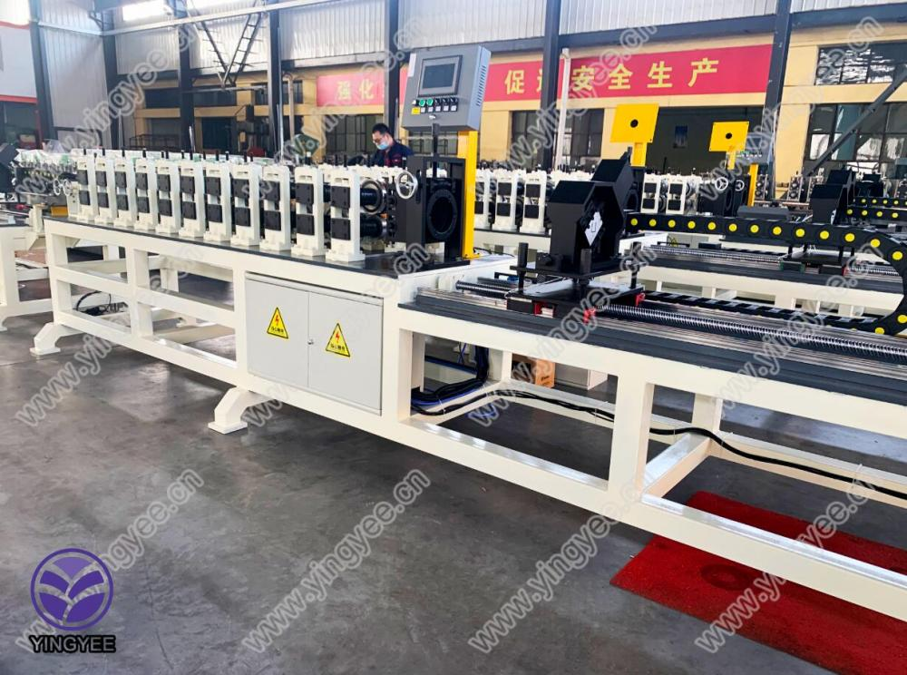 Top Suppliers Carbon Steel Welded Pipe Making Machine - High Speed light keel roll forming machine – Yingyee