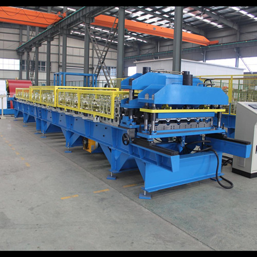 PriceList for C Channel Forming Machine - PPGI Glazed Tile Roofing Making Machine – Yingyee