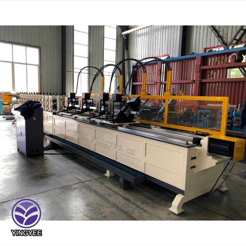 Manufacturer of Crash Barrier Cold Bending Machine - Main furring light keel production line European Standard – Yingyee