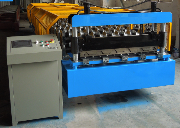 Double Layer Iron Sheets Forming Machine