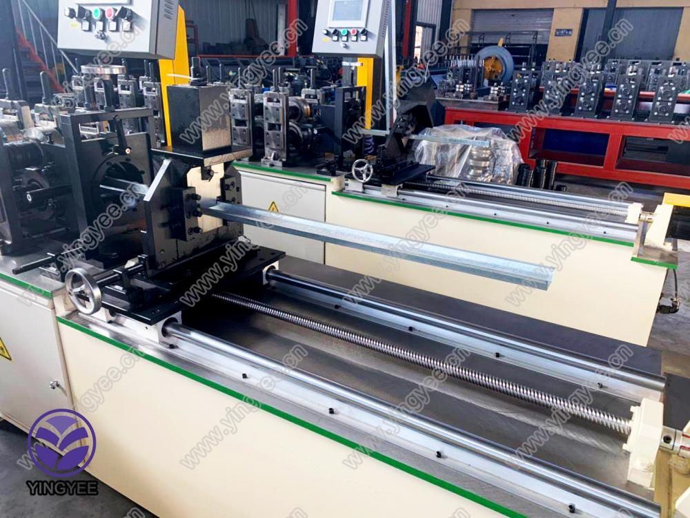 Hot Sale for Highway Sound Barrier Cold Bending Machine - Galvanized metal omega keel roll forming machine – Yingyee