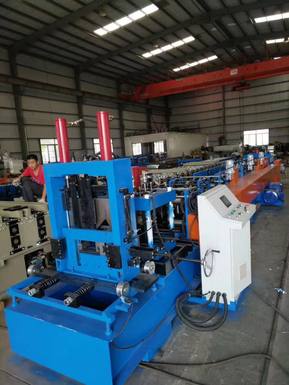 Top Suppliers China C/Z Purlin Interchangeable High Speed Cold Roll Forming Machine Lipped Channel Making Machine Sigma Beam Profile