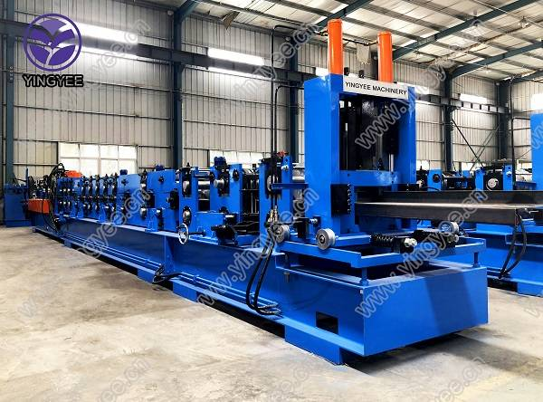 Fully automatic CZU purlin roll forming machine Featured Image