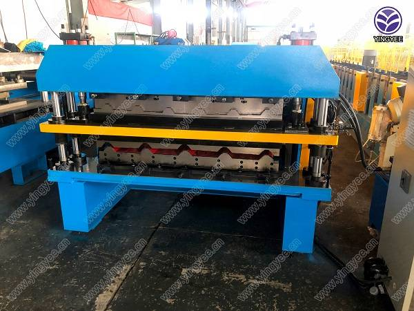 Double layer roofing sheets forming machine Featured Image