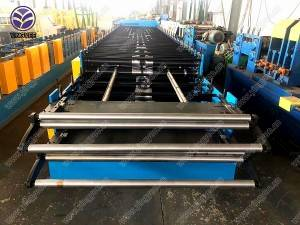 Double layer roofing sheets forming machine
