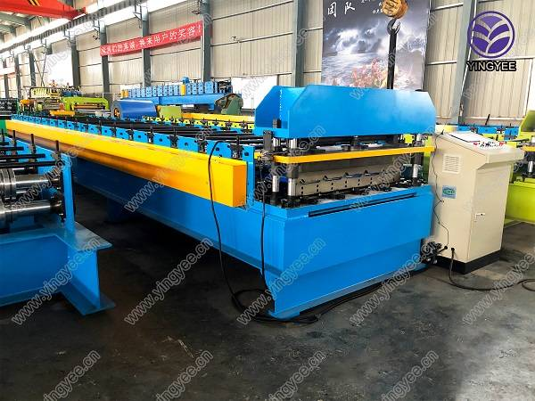 Trapezoid roof sheet roll forming machine Featured Image