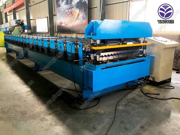 Corrugated sheet metal roof sheet roll forming machine Featured Image