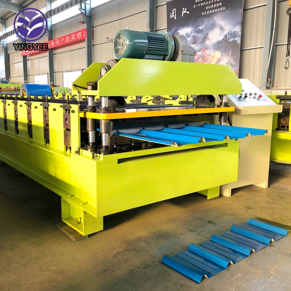 China Factory for Guardrail Machine - trapezoid metal roll forming machine – Yingyee