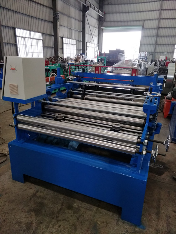 Special Design for Composite Floor Deck Forming Machine - Cut To Length With Settling With Leveling Machine – Yingyee
