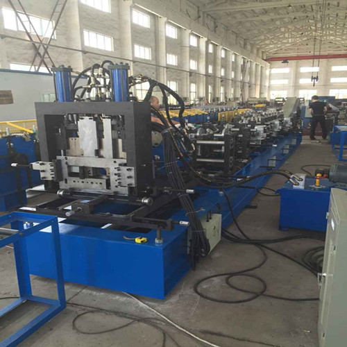 Discount wholesale Cz Purlin Roll Forming Machine - fully automatic C/Z purlin roll forming machine – Yingyee