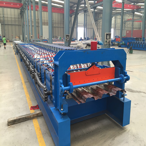 Factory Cheap Shape Purlin Roll Forming Machine - automatic floor deck roll forming machine – Yingyee