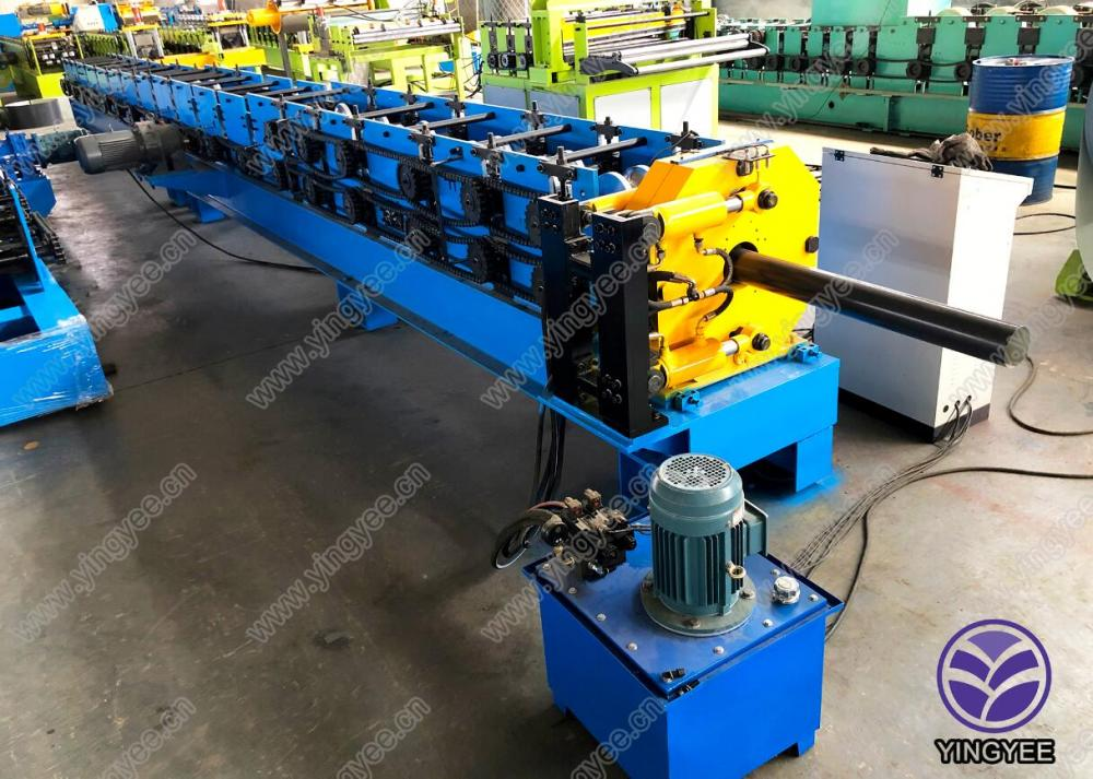 New Fashion Design for Cable Tray Roll Making Machinery - Steel downpipe roll former making machine – Yingyee