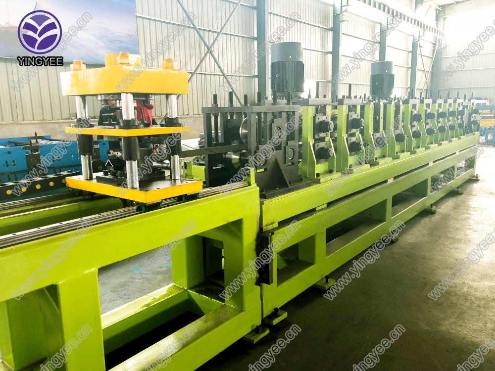 Factory Cheap Erw Tube Mill Machine - Steel Angle roll forming machine – Yingyee