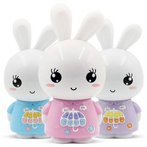 Educational Toys for Chirdren with Sound Recorder Cartoon Rabbit Bluetooth WIFI Bedtime Stories Player