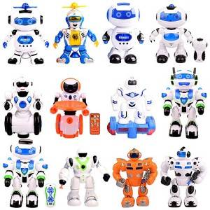 Electric Robot Toys for Kids Education Plastic Smart Singing Dancing Remote Control