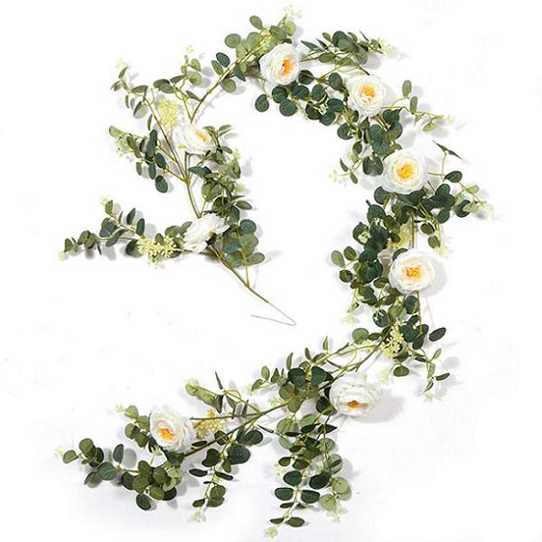 Artificial Flower Garland Eucalyptus Wedding Decor