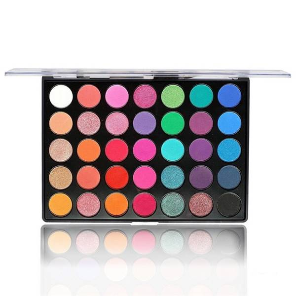 35 Colors Eyeshadow Palette Matte And Glitter Waterproof Multiple Styles Private Label Featured Image