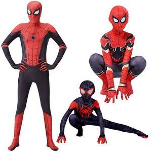 Spiderman Costume Tights Halloween Adult Children's Clothing