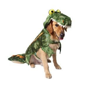 Pet Clothes Crocodile Dog Festival Halloween Dinosaur Costume
