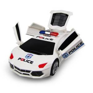Police Car Toy for Children  Music Electric Colorful Lights 360° Rotation