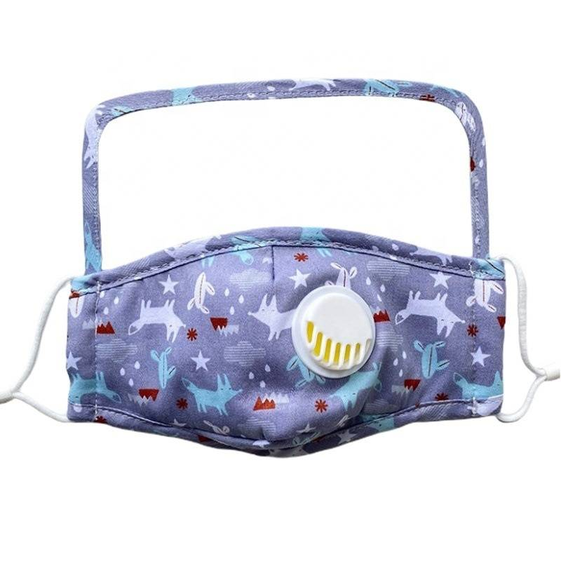 Cpap Full Face Mask Agent In Yiwu - Cotton PM2.5 Face Mask with Breath Valve Child Protective Mask + Eye Shield Cute Cartoon Pattern – YINO