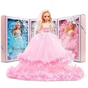 Princess Dolls Toys For Girl Gift Beautiful Wedding Dress