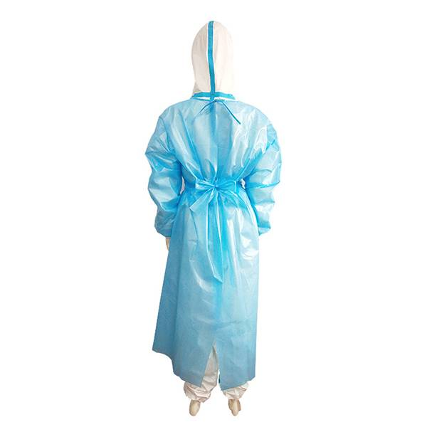 Protective Face Mask Shield Trade Company - Disposable Coverall Isolation Hospital  Medical Dental Protection Workwear Gown – YINO