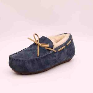 Lady Classic Sheepskin Moccasins with Lace