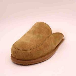 Men Classic Close Toe Sheepskin Slipper
