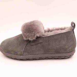 Hot New Products Mens Sheepskin Moccasins Slippers - Lady sheepskin footwear with elastic  – Yiruihe