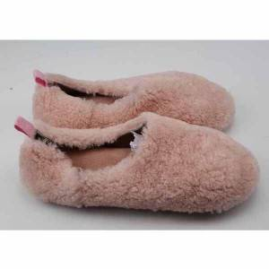 Lady Curl Fur sheepskin indoor slipper