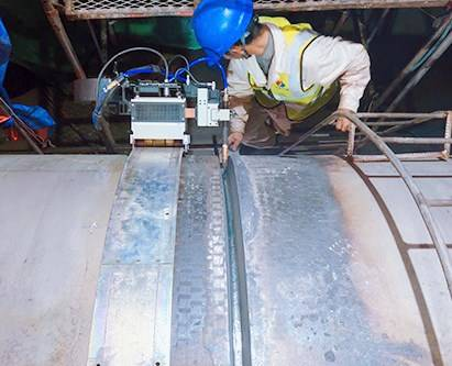 Super-thick Pipe Welding