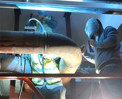 Air Condition Pipe Welding
