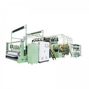 YRS3-N-F-I Type Chopped Biaxial Warp Knitting Machine