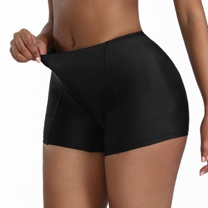 Plus Size Women Butt Lifter Shaper Bum Lift Pants Buttocks Enhancer hip padded tummy control slimming body shaper