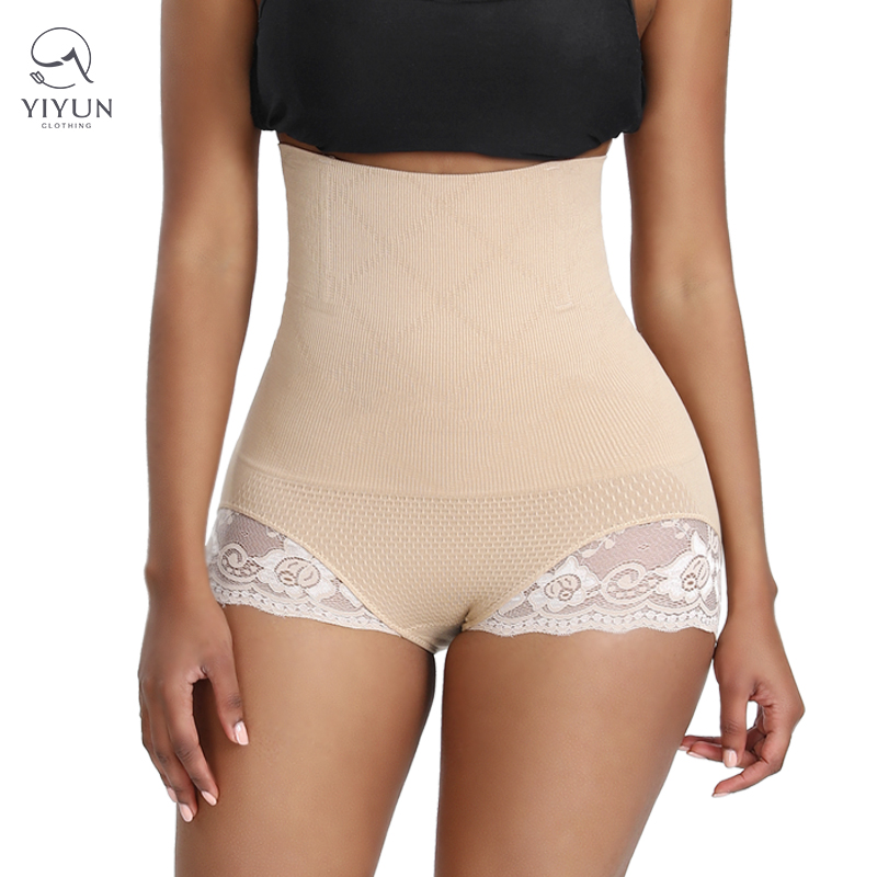 Butt Lifter Panties Tummy Control Slimming Body Shaper Control Panty Sexy Lace Womens High Waist Shapewear Featured Image