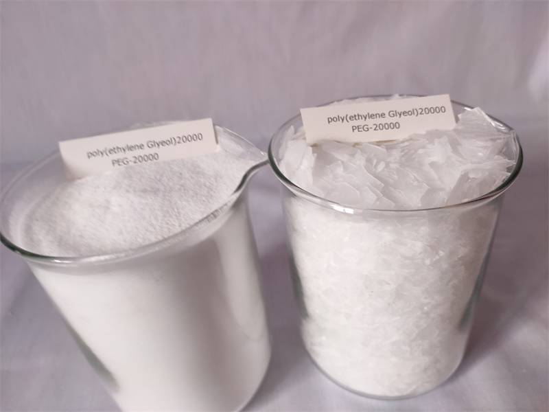 China Manufacturer for Carbomer Gels And Creams - Polyethylene Glycol 20000 Peg20000 – Yinuoxin