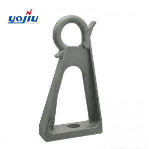 YJCR Series Aluminum Anchoring Bracket For Service Cable Suspension Clamp