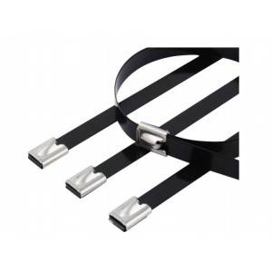 Chinese wholesale Wire Electric Terminal - PVC Sprayed Stainless Steel Cable Ties (Ball Lock) – Yongjiu