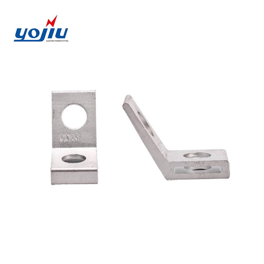 Cheapest Price Strain Clamp For Steel Earth Wire - Aluminum Alloy Anchor Bracket For Service Dead End Clamp YJCA 25  – Yongjiu