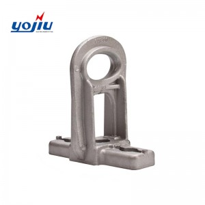 OEM China Anchoring Bracket - Tension Pole Mounting Support Metal Aluminium Anchoring Clamp Bracket YJCA Series – Yongjiu