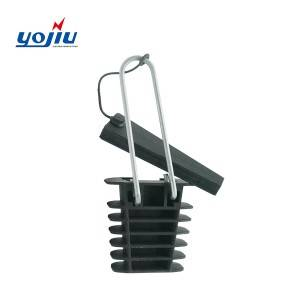 Overhead High Tension Power Pole PA Series Dead End Plastic Cable Wire Clamps