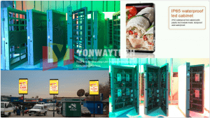 Smart City Pole Sign LED Display, Lighting LED Screen P2.5, P2.94, P3, P3.33, P3.84,