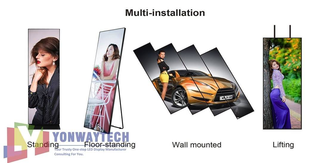Plug & playing Retail Digital LED Poster,Advertising (1)