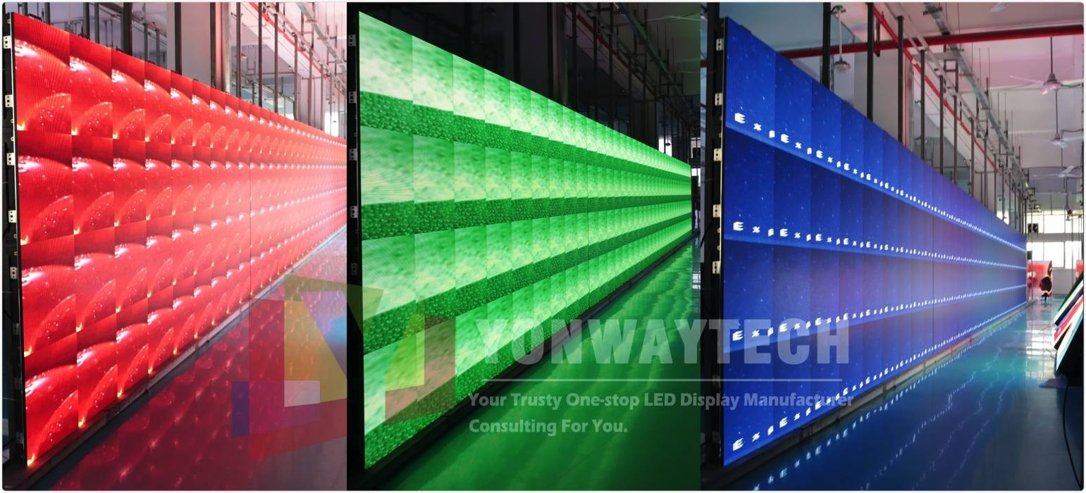 What are the differences between regular fixed LED display and rental LED screen?